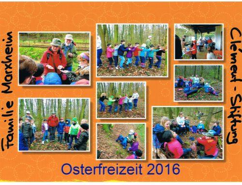 Osterfreizeit 2016