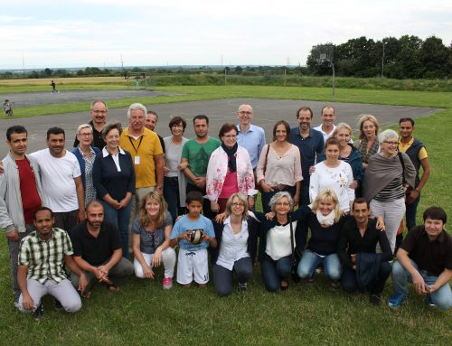 Team des AK-Asyl Hofheim Frankfurter Straße