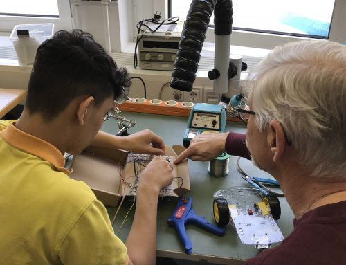 Kleiner Roboter Workshop mit Lab3